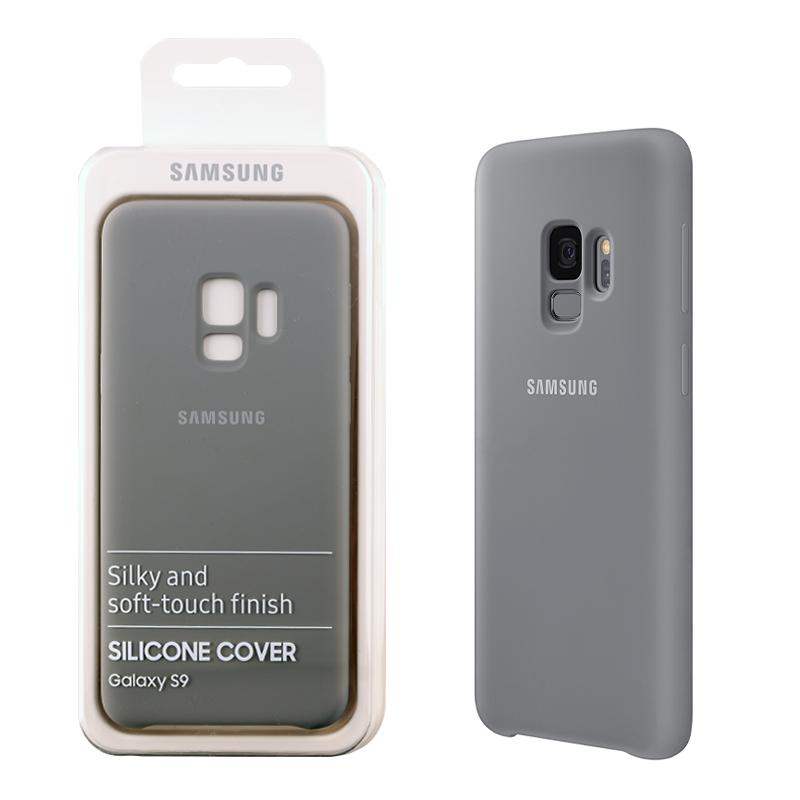 ΓΝΗΣΙΑ ΘΗΚΗ SAMSUNG S9 G960 SILICONE COVER EF-PG960TJEGWW GREY